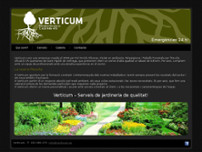 Verticum website screenshot