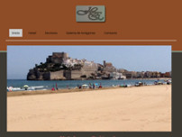 Hotel Herasu website screenshot