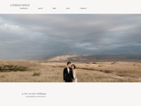 Andreas Holm Photography website screenshot