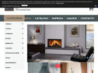 Montija Decoración website screenshot