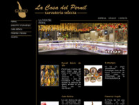La Casa del Pernil website screenshot
