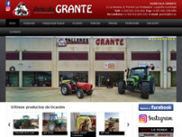 Agricola Grante website screenshot