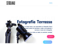 Sergi Lanau Fotografo website screenshot
