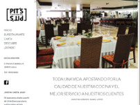Restaurante Pit´s website screenshot