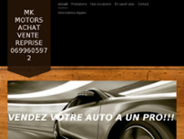 MK MOTORS website screenshot