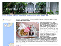 DAR EL MALAIKA website screenshot