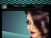 Anaïs Coiff ' website screenshot