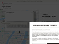 Louis Vuitton Lyon website screenshot