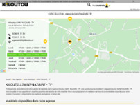 Kiloutou TP website screenshot