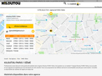 Kiloutou website screenshot