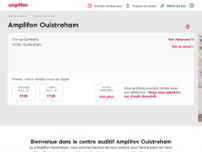 Amplifon Ouistreham website screenshot