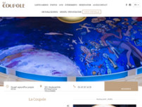 La Coupole website screenshot