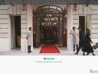 Hotel Le Royal Monceau - Raffles Paris website screenshot