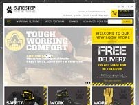 Surestep Footwear website screenshot