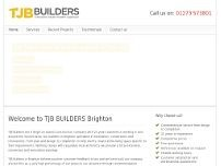 TJB Builders website screenshot