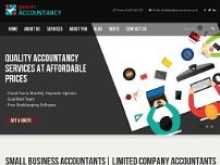 Quality Accountancy website screenshot