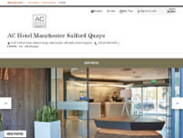 AC Hotel by Marriott Manchester Salford Quays website screenshot
