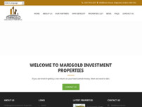 Marigold Investment Properties website screenshot