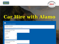 Alamo Rent A Car - South Exeter website screenshot