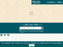Bella Italia - Peterborough website screenshot