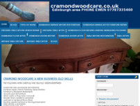 Cramond Woodcare website screenshot