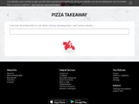 Pizza Hut Delivery website screenshot