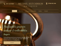 Michael Hutchinson Antiques website screenshot