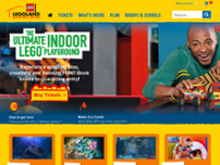 LEGOLAND Discovery Centre website screenshot