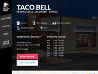 Taco Bell website screenshot