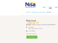 Nisa Local website screenshot