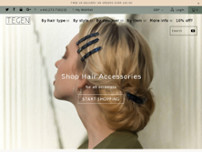 Tegen Accessories website screenshot