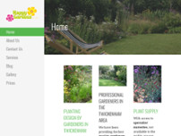 Happy Gardens website screenshot
