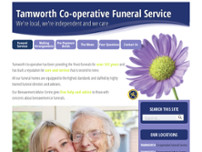 Halliwell Funeral Service & Memorials website screenshot