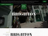 Hotel du Vin & Bistro Brighton website screenshot