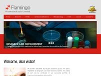 FLAMINGO PHARMACEUTICALS LTD website screenshot