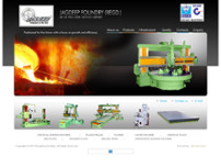 Jagdeep Foundry (Regd.) website screenshot