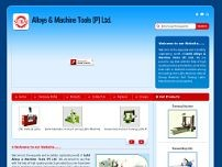 Sahil Alloys & Machine Tools(p) Ltd website screenshot