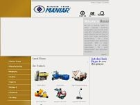 MANIAR AND COMPANY website screenshot