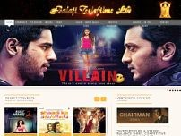 Balaji Telefilms Ltd website screenshot