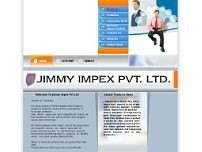 Jimmy Impex Pvt.Ltd. website screenshot