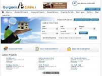 Gurgaon Estate & Developers Pvt Ltd website screenshot