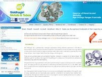 Siddhagiri Metals & Tubes website screenshot