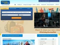 Thomas Cook Ltd website screenshot