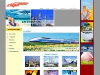 CAT Air Pvt Ltd website screenshot