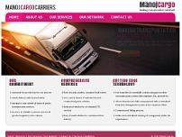 Manoj Cargo Carriers website screenshot