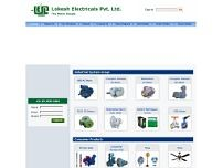 Lokesh Electricals P Ltd website screenshot