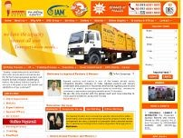 Agarwal Packers and Movers website screenshot