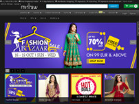 Mirraw Online Services Pvt Ltd website screenshot