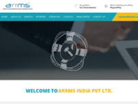 ARRMS INDIA PRIVATE LIMITED website screenshot