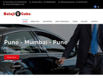 Pune Mumbai cabs website screenshot